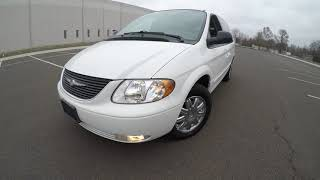 4K Review 2004 Chrysler Town & Country Limited Virtual Test-Drive & Walk-around