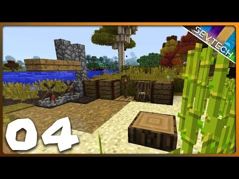 Minecraft: SevTech Ages || SAFE AT LAST!  ||  Ep 04