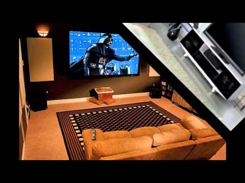 Home theater furnishings ideas