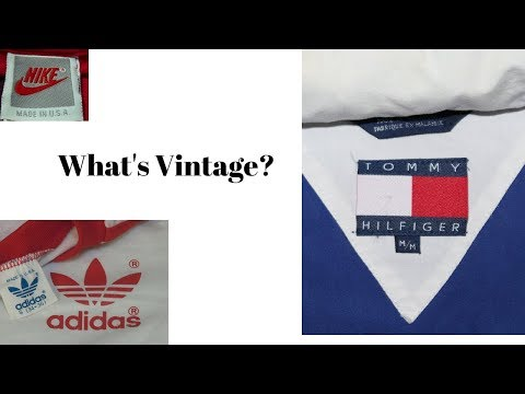 How to Tell The Difference Between Vintage and Newer Clothing | A Guide