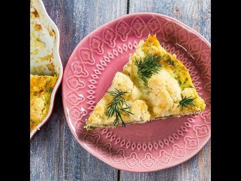 Plăcintă cu cartof și conopidă