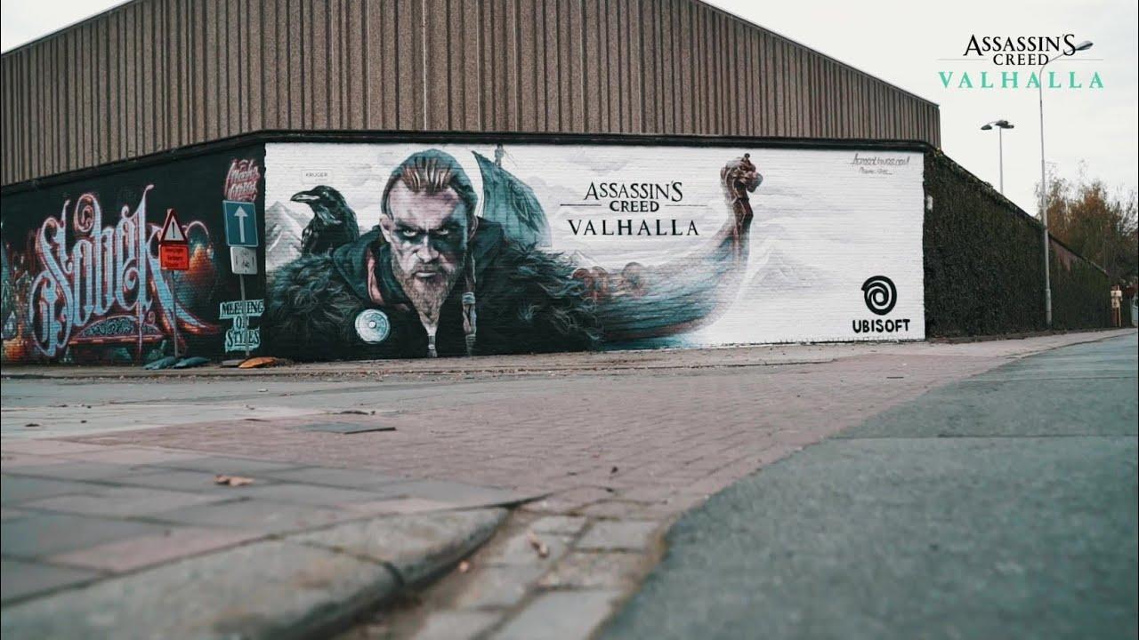 Assassin's Creed Valhalla - Graffiti Antwerp