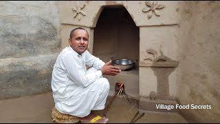 Suji Ka Halwa Recipe  Rainy Day Dessert Recipe  Rainy Day in Our Village  Village Food Secrets