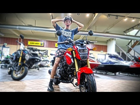 NEW STREET BIKE SHOPPING!!!