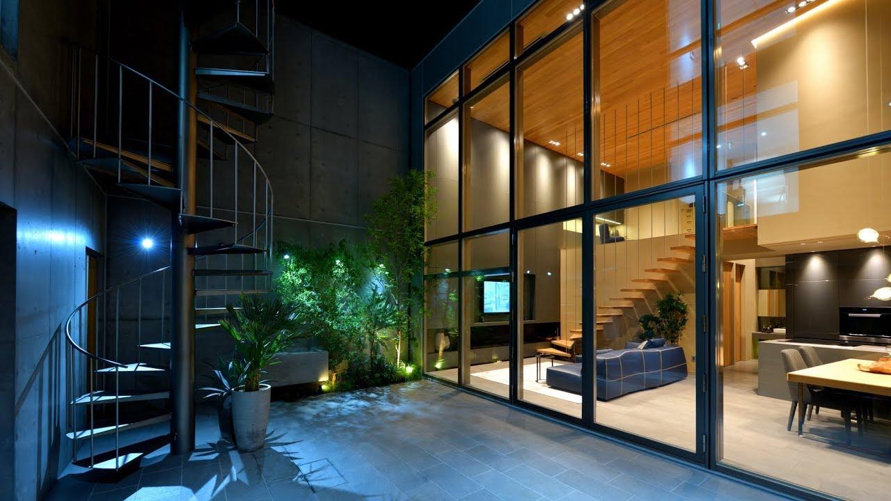 ysact 設計事務所オフィス兼ラグジュアリー住宅 新築作品紹介動畫 - YouTube