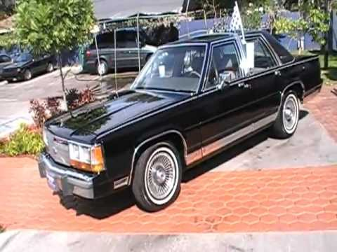 1989 Ford LTD Crown Victoria LX  Kar Connection Miami  YouTube