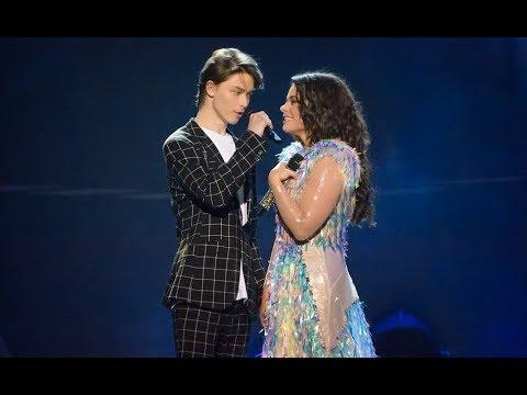 Наташа Королева и сын Архип - веришь или нет (Бенефис Ягодка) Кремль 2018