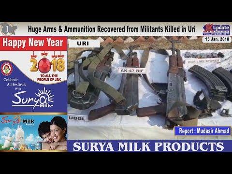 Jammu Kashmir News Round Up 15  Jan 2018