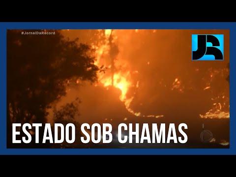 Incêndios florestais matam 12 pessoas e destroem 4.000 casas na Califórnia