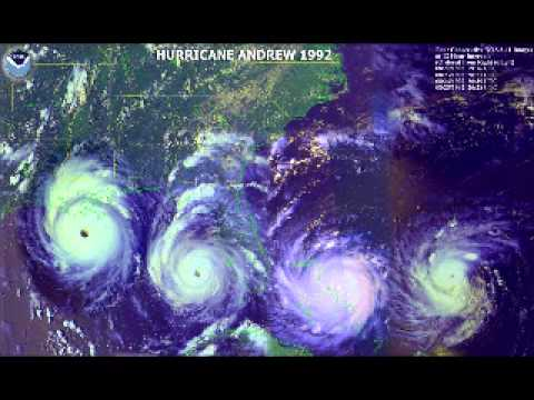 WIOD Hurricane Andrew Approaches (August 23, 1992)
