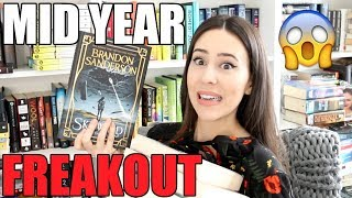 MID YEAR BOOK FREAK OUT TAG || BEST & WORST BOOKS OF 2019 (so far!)