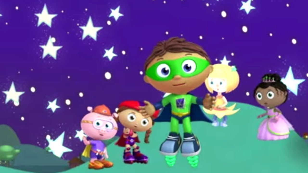 Super WHY! and The Stars in the Sky | Super WHY! S01 E36