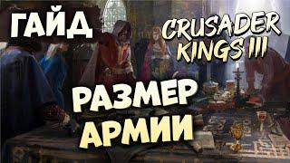 СКОЛЬКО НАДО ВОЙСК ДЛЯ ЗАЩИТЫ | Гайд по Crusader Kings III