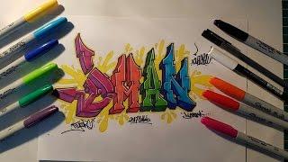 Graffiti Collab #7 (DAMN)