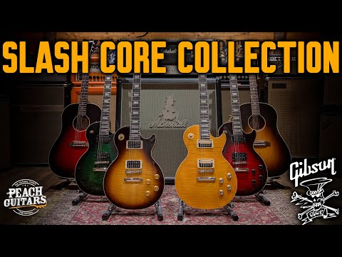 An Introduction To The Brand New Gibson USA Slash Core Collection