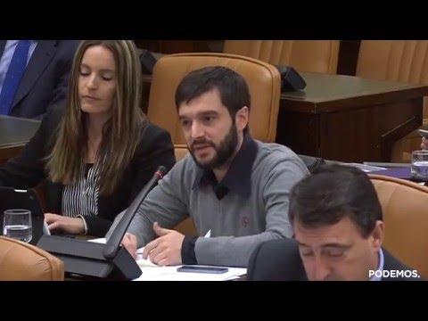 Pablo Bustinduy en la Comisión de Asuntos Exteriores sobre Venezuela el 13 de Abril de 2016