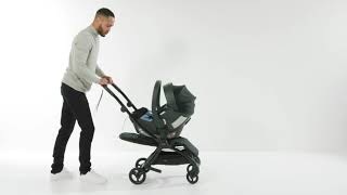 Fitting A Car Seat To Airo | Pushchair | Mamas & Papas