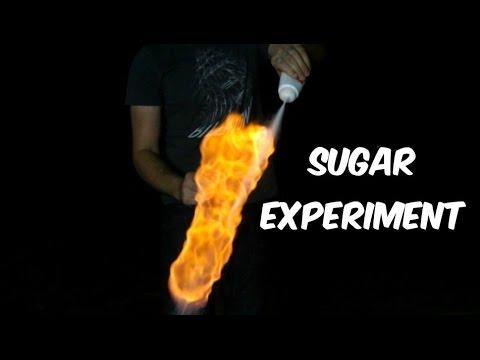 Powdered Sugar Experiment