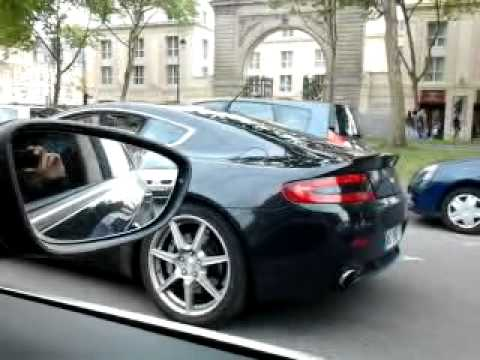 vw passat cc vs aston martin v12 vantage youtube. Black Bedroom Furniture Sets. Home Design Ideas