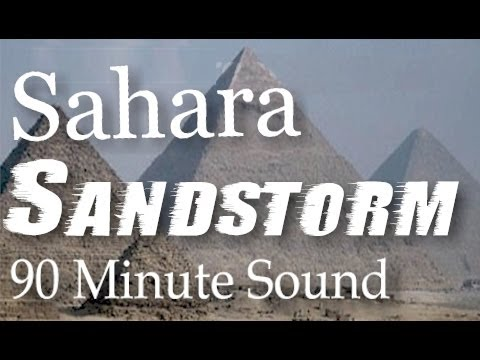 Sandstorm Sounds - 1.5 Hour Long Sleep And Nature Sounds