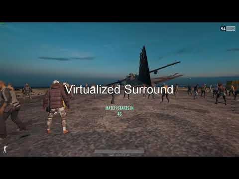 PUBG Windows Sonic Virtual Surround