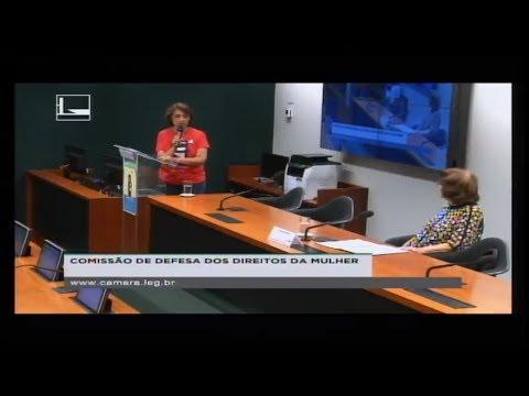 DEFESA DOS DIREITOS DA MULHER - Tribuna da Mulheres - Promotoras legais populares 08/08/2018 - 11:27