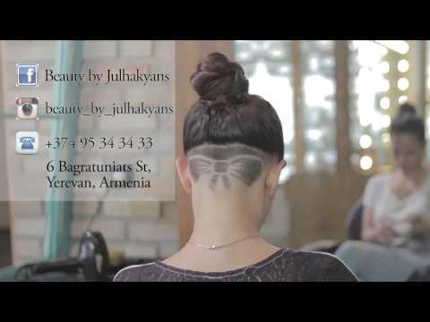 butterfly tie HAIR TATTOO Julhakyans