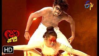 Abhay Surya and Jeevana Performance | Dhee Jodi | 12th June 2019    | ETV Telugu