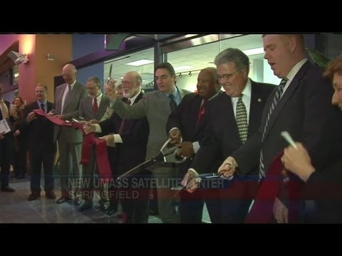 First part of UMass Springfield center opened