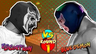 Escorpión VS Blue Demon