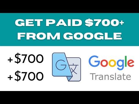 Earn $700 Every Day From Google Translator (Make Money Online)
