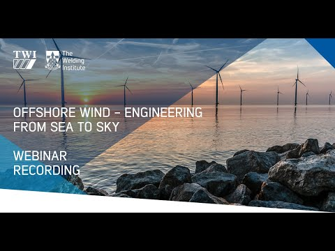 Webinar: Offshore Wind - Engineering from Sea to Sky Day 2