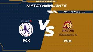 Match 10 - PCK vs PSM | Highlights | FanCode ECS Czech Republic Day 3 | Prague 2021 | ECS21.301