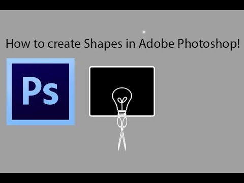 How to create shapes in adobe photoshop | beginners | easy tutorials in hindi | class 2 thumbnail