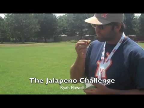 Lax All Star Ryan Powell Attempts the Jalapeno Challenge