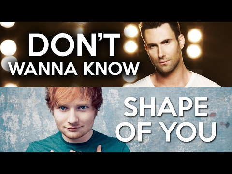 MASHUP - Shape of You vs. Don't Wanna Know (Ed Sheeran, Maroon 5)