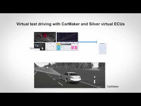 Enjoy the drive with CarMaker and Silver virtual ECUs