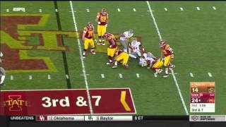 Oklahoma State at Iowa State | 2015 Big 12 Football Highlights