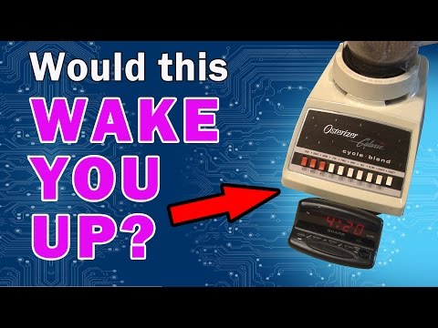 Loudest Alarm Clock on Earth!