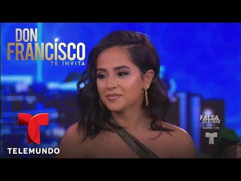 Becky G revela sus orígenes en Don Francisco Te Invita | Don Francisco Te Invita | Entretenimiento