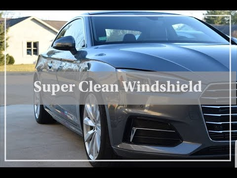 How to Super Clean Your Interior Windshield