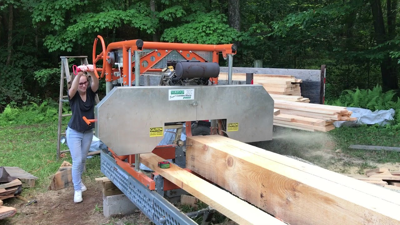 Norwood Portable Sawmill Owner Frank Myers Speaks About His Lumbermate Pro Mx34 Bandmill You