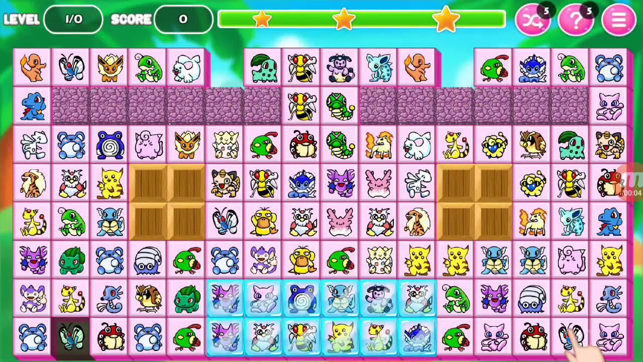 Pikachu kawai Connect 2018 – Trò chơi Pikachu Cổ Điển cho điện thoại di động