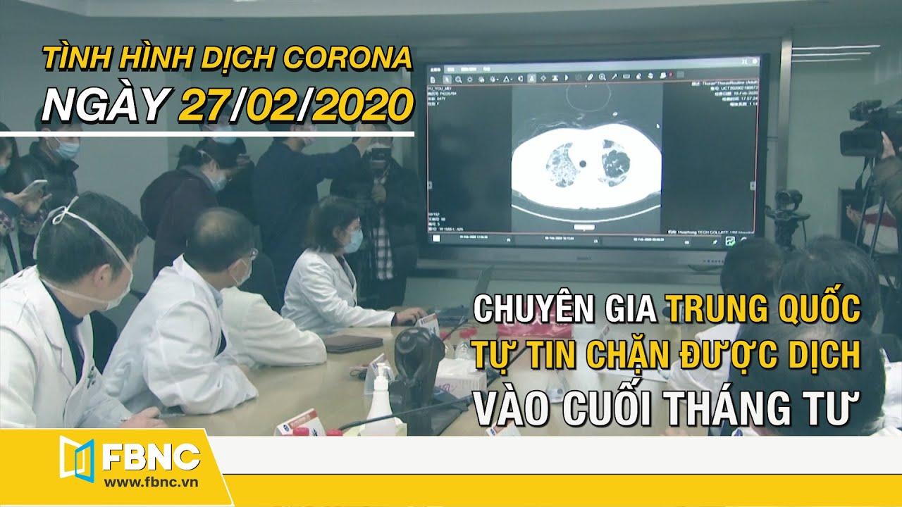 Tin tức dịch corona mới nhất hôm nay ngày 27 tháng 2, 2020 | Cập nhật tình hình dịch Covid-19