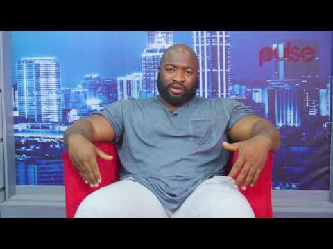 """I eat six times in a day,"" Nigeria's Strongest Man Fadesire Oluwatofunmi  Tells Pulse TV"