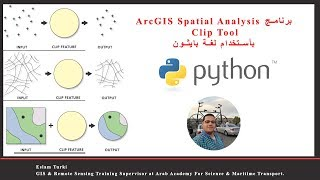 Python Clip Tools - ArcGIS Spatial Analyst تعلم برنامج | GIS