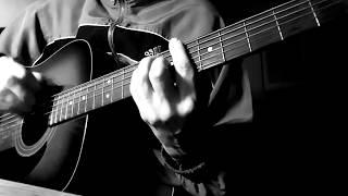Бутырка Зеркалом блестит река Cover под гитару