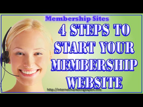 how to add a membership to your website