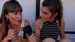 Entrevista con AMAIA y AITANA desde la carroza de Netflix en el Orgullo 🏳️🌈