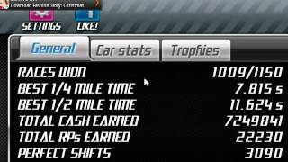 Drag Racing 1.5.2 Nissan GTR R35 Lv 6 Tune 8.899 and 8.891 Best 1/4 Mile